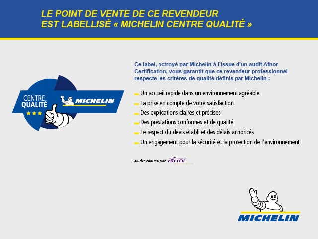 Michelin centre qualit 2018 2019 pyrame for Garage les milles